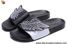 Sale Cheap Adidas X Jeremy Scott Wings Sandals Black White For Sale