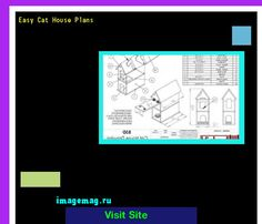 Easy Cat House Plans 100531 - The Best Image Search
