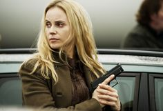 Not only was she an awesome character, but Saga Noren has the best coat ever and I WANT IT!