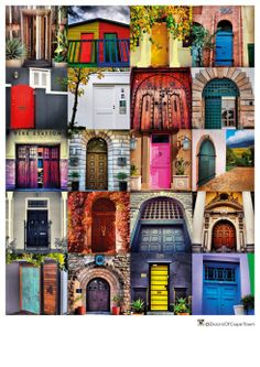 An intrepid Capetonian is photographing good-looking doors around the city; and an Instagram account set up to document his findings is developing a following. Doors of Cape Town print/canvas poster for sale.