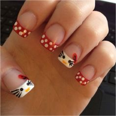 I bet I can do this.. I've gotten good at doing my own nails :)