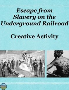 This activity has students recreate the experience of 2 slaves escaping slavery on the Underground Railroad with the help of Harriet Tubman. There are 6 creative/opinion questions to answer, then the students recreate their journey on a map provided. This would be great for a sub!