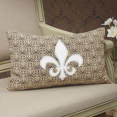Montreux Fleur de Lis Pillow -Staci