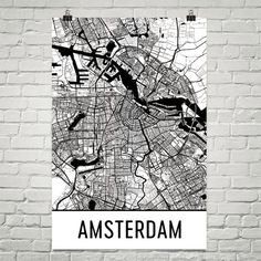 Oslo Map Art Print Oslo Norway Art Poster Oslo Wall Art Oslo - Norway map poster