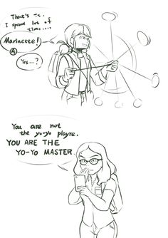 (3/4) http://iekun.tumblr.com/post/143061615891/marinette-the-yo-yo-master-my-fav-part-of-sketch