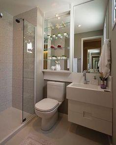 """2,912 curtidas, 19 comentários - Arquitetura   Decoração   Casa (@ideiasparabanheiros) no Instagram: """"Inspiração de banheiro. ❤"""""""