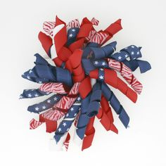 Alwaysunderpay.com - 12 4th of July Korker Bows, $14.95 (https://www.alwaysunderpay.com/12-4th-of-july-korker-bows/)
