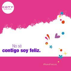 Te llenarás de felicidad con la #NuevaFrescura de COTY  2 nuevas fragancias y muchas cosas más están por llegar!!