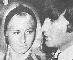 Cynthia Powell-Lennon and John Lennon (Google Image Result for http://1.bp.blogspot.com)