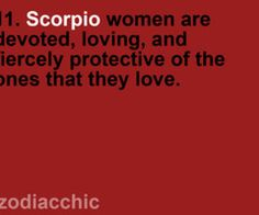 Scorpios....Mike & I both! Yikes!