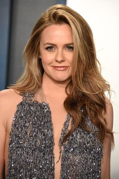 Girls Haircuts With Layers, Layered Haircuts, Alicia Silverstone, 43 Year Old Woman, Cher Clueless, Old Actress, Some Girls, Hair Color, Blonde Color