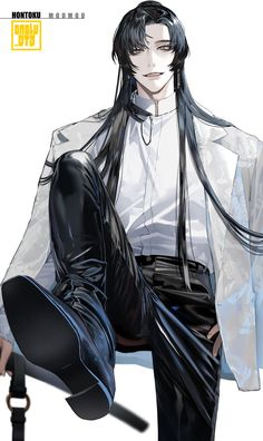 Anime Demon Boy, Dark Anime Guys, Cool Anime Guys, Handsome Anime Guys, Cute Anime Boy, Anime Boy Zeichnung, Fantasy Art Men, Anime Boyfriend, Anime People