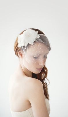 Garden Princess  Bridal Headband by sibodesigns on Etsy, $82.00