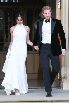 65294767fa63 (May 19, 2018) Meghan Markle wears a Stella McCartney gown at the Royal