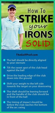 Simple golf tips. Discover how to be able to turn into a considerably better golfer.