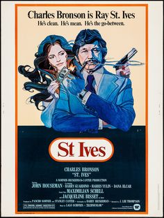 St. Ives (1976) Stars: Charles Bronson, Jacqueline Bisset, John Houseman, Maximilian Schell, Harry Guardino, Harris Yulin ~ Director: J. Lee Thompson
