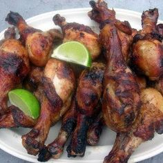 Grilled Beer Chicken Drumsticks