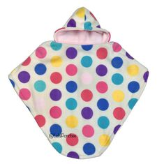 The safest alternative to jackets in car seats. It provides warmth against the harsh winter, convenience in putting it on and off, BUT most importantly safety in keeping it on while in the car seat! Car Seat Poncho, Large White, Fun Projects, Car Seats, Safety, Coin Purse, Alternative, Trending Outfits, Polka Dots