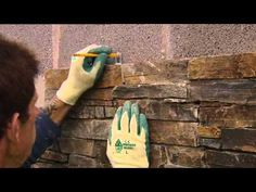 ZClad Natural Stone Cladding - DYI installation video for interior or exterior stone walls Cladding Systems, Wood Cladding, Natural Stone Cladding, Victoria House, Stone Veneer, Fireplace Wall, Faux Stone, Steel Doors, Stone Work