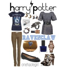 """""""Ravenclaw"""" by onehaolegirl on Polyvore"""