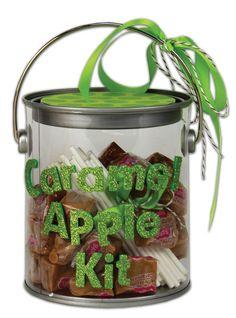 Crafts Direct Project Idea: Caramel Apple Kit Paint Can