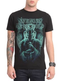 edf8f8a8bd8 Avenged Sevenfold Blue King Slim-Fit T-Shirt My T Shirt