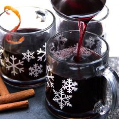 Swedish Glogg: festive hot mulled spiced wine with port and brandy. The best holiday drink!