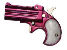 If I EVER were to own a gun (which is highly unlikely in this lifetime) it'd be this Cobra Majestic Pink Derringer Pink Pistol, I Am A Unicorn, Pink Guns, Pistol Annies, 22lr, Revolvers, Fire Powers, Cool Guns, Guns And Ammo