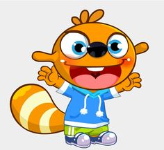 Ola, one of the characters from ALO7's curriculum. #ALO7English
