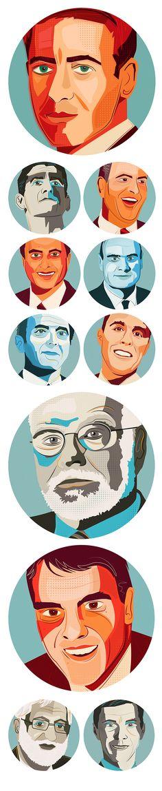 Worth Magazine Power 100 Portraits by Neil Stevens