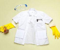 Pretend Play: 5 Ideas for DIY Dress Up- scientist, crowns, tails, spy kit & fighter pilot helmet