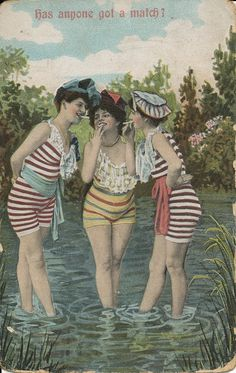 1910s? I want a swimsuit like this