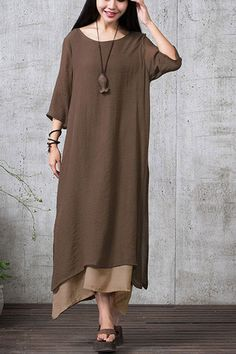 Boho-Me Vintage Maxi Dress