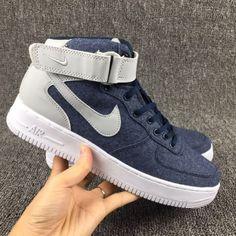 f93daf7e0da Nike Air Force 1 AF1 High Unisex shoes