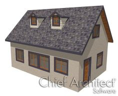 How To Use The Gable Roof Line Tool Chief Architect
