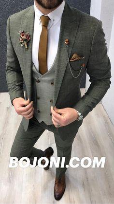 Dress Suits For Men, Mens Casual Suits, Mens Attire, Mens Suits, Men's Tuxedo Wedding, Wedding Attire, Men Wedding Outfits, Mens Wedding Tux, Grey Tuxedo Wedding