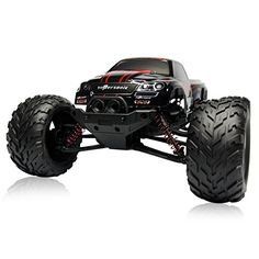 Babrit Speedy RC CARS 30MPH 1/12 Scale RTR Remote control Brushed Monster RC Vehicle Truck Off road Car Big Foot 2WD W/2.4G