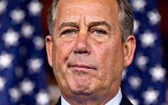 John Boehner is not impressed.