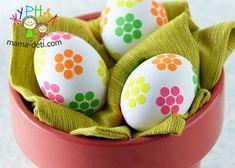 Красим яйца красиво | Идеи для украшения пасхальных яиц