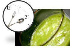 Agrega este batido verde cremosoa tu dieta, te ayudaráa romper ciclos viciosos de alimentación proporcionando el alimento necesario en una forma conc