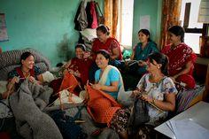 Zilalila - knitting producers, Nepal  #zilalila #knit #knitting #Nepal #fairtrade #handmade