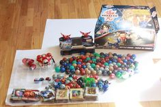 Huge Lot Bakugan Brawlers, Magnetic Cards, Regular Cards, Case Arena  #Bakugan