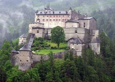 Hohenwerfen Castle, Austria :)