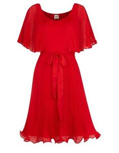 Oasis Swishy Red Dress   Would Make Me Feel Like I Was In Saturday Night  Fever