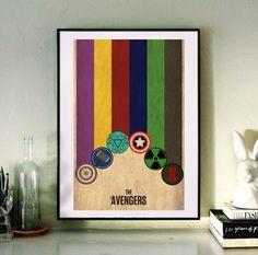 Fancy | The Avengers Minimalist Poster