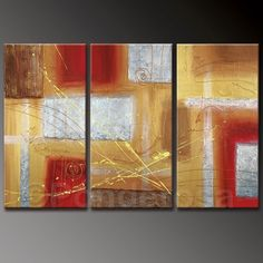Amazing abstract art, Price: $395.00, Shipping: Free Shipping, Size of Parts: 40cm x 70cm x 3 panels, Total Size (W x H): 120cm x 70cm, Delivery: 14 - 21 Days, Framing: Framed & Ready to Hang! Call us on 1300 90 21 53 and talk to your friendly art customer service representative.  http://www.directartaustralia.com.au/