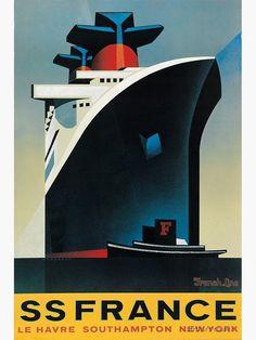 Retro Poster, Poster Ads, Vintage Advertisements, Vintage Ads, Vintage Makeup, Southampton, Kunst Poster, Travel Ads, France Art