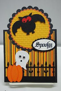 cute halloween card from the SU owl punch. Tarjetas Stampin Up, Stampin Up Karten, Stampin Up Cards, Halloween Cards, Halloween Fun, Homemade Halloween, Fall Cards, Holiday Cards, Owl Punch Cards
