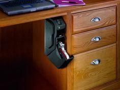 Discreet Gun Vault    . Biometric lightweight easy open Gun Safes.  Free shipping