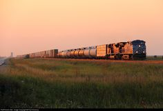 RailPictures.Net Photo: CEFX 1002 Canadian Pacific Railway GE AC4400CW at Meadows, Manitoba, Canada by Paul Sincerny